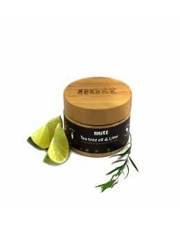 TEA TREE OIL & LIME bambucké máslo